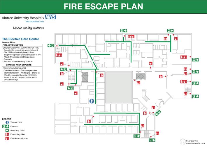Fire Emergency Evacuation Plan And The Fire Procedure Firesafe Org Uk