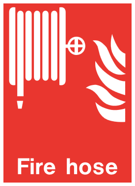 Fire Safety Signs on fire safety plan symbols
